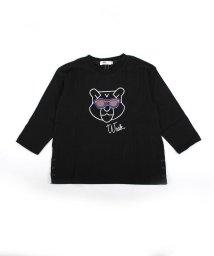 WASK/アニマルメガネワッペンTシャツ(110cm~130cm)/501989142