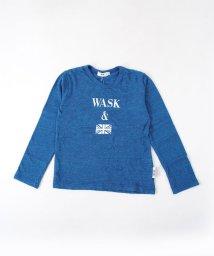WASK/エルパソ天竺ロゴ+ユニオンジャックプリントTシャツ(100cm)<br>/501989146