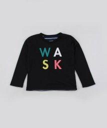 WASK/【カタログ掲載】無地+ボーダーリバーシブル天竺Tシャツ(110cm~130cm)/501989151