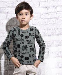 WASK/MJ手描きロゴ柄Tシャツ(110cm~130cm)<br>/501989167