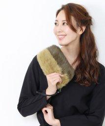sankyoshokai/ラビットファー ポーチ ファー クラッチバッグ/501989367