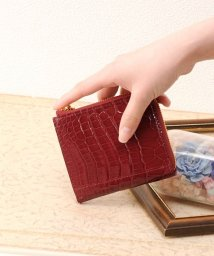sankyoshokai/本革クロコダイルレザー ミニ財布 レディース メンズ/501989519