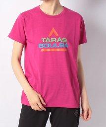 TARAS BOULBA/タラスブルバ/レディス/カラフルロゴTシャツ/501990000