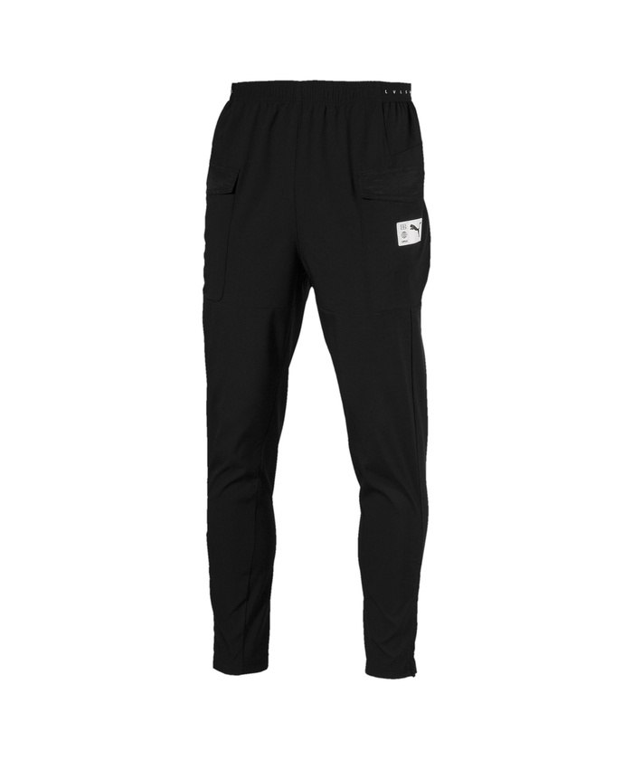 Clothing & Accessories Black Fitness, Running & Yoga Latest Collection Of Puma Evostripe Mens Track Pants