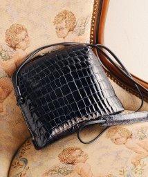 sankyoshokai/本物のクロコダイルレザー 本革バッグ レディース ショルダーバッグ/501990558