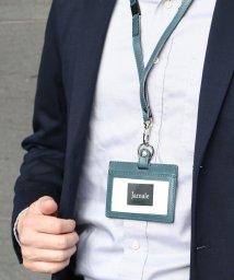 Jamale/[Jamale] 日本製 レザー IDケース 横型 パスケース レディース メンズ/501990586