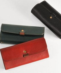 HALEINE/[HALEINE] 日本製 本革レザー 長財布 かぶせ レディース メンズ/501990690