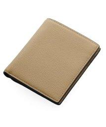 Mia Borsa/[Mia Borsa] 牛革レザー 縦型 二つ折り財布 メンズ 本革/501990709