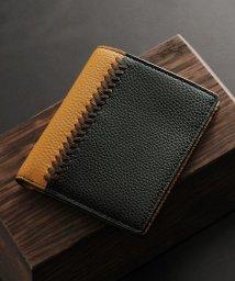 Mia Borsa/[Mia Borsa] 牛革レザー コンパクト 二つ折り財布 メンズ/501990711