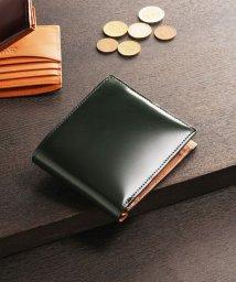 PRAIRIE/[PRAIRIE] コードバンレザー 折り財布 メンズ/501990815