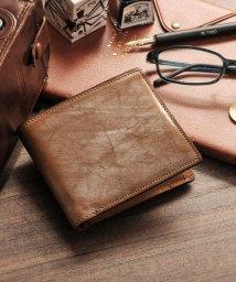 PRAIRIE/[PRAIRIE] ブライドルレザー 牛革 二つ折り財布 日本製/501990845
