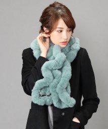 sankyoshokai/レッキス ファー マフラー フリル デザイン/501990999