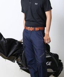 mieno golf/[mieno] クロコダイル(ポロサス)レザースポーツベルト/501991028