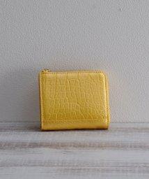 mieno/[mieno] クロコダイルレザーパールミニ財布/501991071