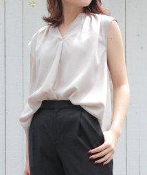 le.coeur blanc/ギャザーフレンチスキッパーシャツ/501552564