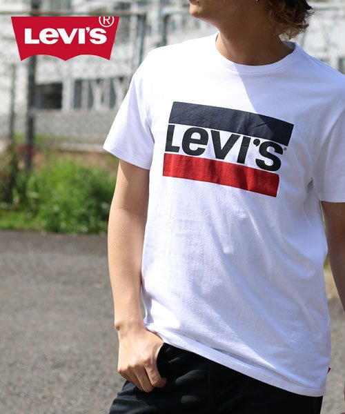MARUKAWA(マルカワ)/【Levi's】リーバイス スポーツロゴ 半袖Tシャツ/0111010394