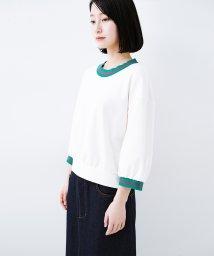 haco!/子どもっぽくならない 大人女子のための配色スウェット/501979570