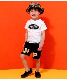 ANAP KIDS/裾ロゴプリントTシャツ/501982990