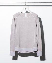 C DIEM/C DIEM(カルペディエム) 硫化染クルーネックロングTシャツ/501987475