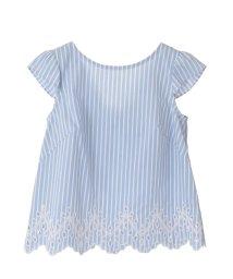 31 Sons de mode/バックリボン裾刺繍ブラウス /501989882