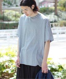JOINT WORKS/【Begin掲載】Foggy dye ボーダードロップTシャツ◆/501991823