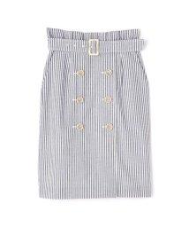 PROPORTION BODY DRESSING/◆マリンストライプトレンチスカート/501992812
