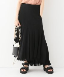 journal standard  L'essage /【INSCRIRE / アンスクリア】Curvceous Fringe Skirt:スカート/501994267