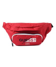 GUESS/ゲス GUESS LOGO WAIST BAG (RED)/501994722