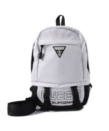 GUESS/ゲス GUESS LOGO SLING BAG (WHITE)/501994742