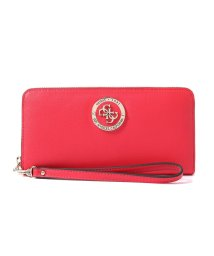 GUESS/ゲス GUESS LANDON LARGE ZIP AROUND WALLET (RED)/501994799