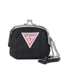 GUESS/ゲス GUESS URBAN CHIC COIN PURSE 【ONLINE EXCLUSIVE ITEM(WEB限定)】 (BLACK DENIM)/501994812