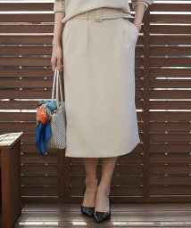 MICHEL KLEIN/【セットアップ対応】サイドスリットタイトスカート/501617322