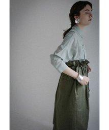 CLANE/MIILITARY SHIRRING LONG スカート/501965310