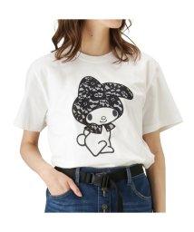 MAC HOUSE(women)/LOVE-T マイメロディ レースズキン 半袖Tシャツ 88738NM/501987123