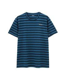 MAC HOUSE(men)/TARZAN メッシュ ボーダーTシャツ TZM-1809/501987222