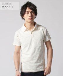 THE CASUAL/(バイヤーズセレクト)Buyer's Select リーフジャガード半袖ポロシャツ/501996969