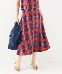 Spick & Span/チェックAラインスカート/501998244