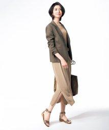 NIJYUSANKU/【マガジン掲載】ドライタッチ ワンピース(検索番号H29)/501998551