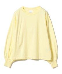 Ray BEAMS/Ray BEAMS / バルーンスリーブ BIG ロングTシャツ/501123343