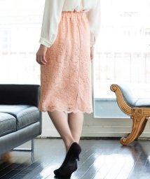 ViS/【WEB限定】レースタイトスカート/501997477