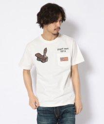 Schott/【直営店限定】POCKET T-SHIRT EAGLE PATCH/イーグル パッチ ポケットTシャツ/501998604
