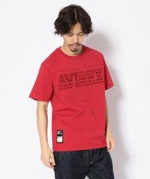 AVIREX/星条旗ロゴ フットボールTシャツ/STARS&STRIPES LOGO FOOTBALL T-SHIRT/501998652