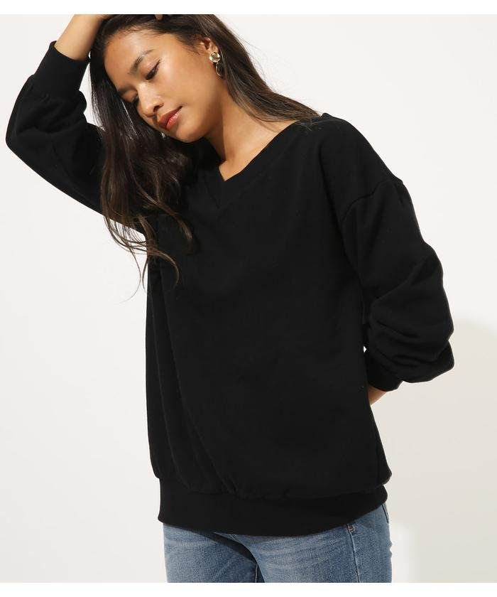 SWEAT V/N LOOSE TUNIC