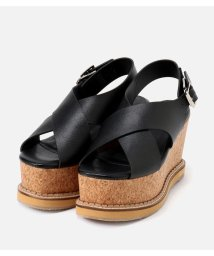 AZUL by moussy/CORKHEEL WEDGE SANDALS/501999160