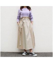 MODE ROBE/トレンチ配色スカート/502000049