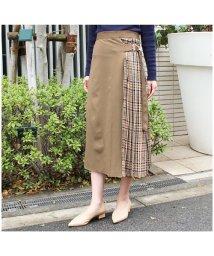 MODE ROBE/チェック配色スカート/502000050