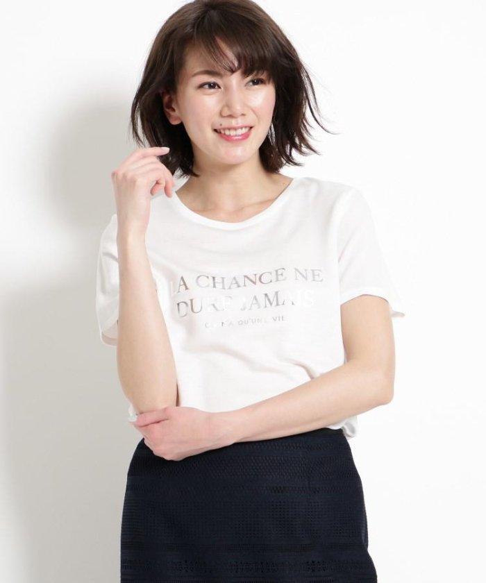 【洗える】シャイニーロゴプルオーバー