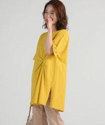 LIPSTAR/クウボウ天竺ねじりチュニックTシャツ/501979386