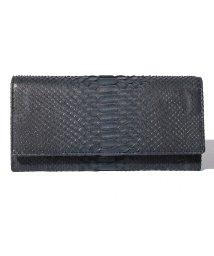 gino marina luxe/パイソン長財布/501993163