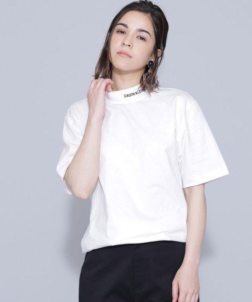 nano・universe(ナノ・ユニバース)/Calvin Klein Jeans/ON THE NECK TEE/6719124060